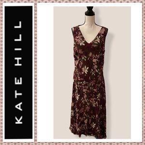 🆕Kate Hill Woman Short Sleeve Maxi Dress